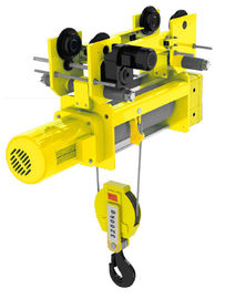 China Standard Low Headroom Electric Hoist  2/1 Rope Reeving Remote Control supplier