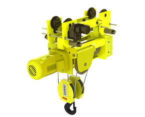 China European Design Low Headroom Wire Rope Hoists 4/1 Rope Reeving Of  Four Wire Rope supplier