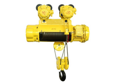 China Remote Control Explosion Proof Electric Wire Rope Hoist 0.5 ton to 16 tons Yellow Color supplier