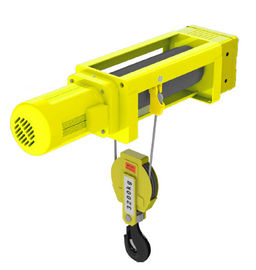 China 1t - 20t Capacity Lightweight Electric Hoist 2/1 4/1 Rope Reeving Leading Crane Foot Mounted supplier