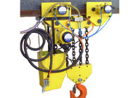 China Anti Explosive Pneumatic Chain Block 20 ton Normal Yellow Alloy factory