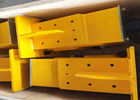 Yellow End Carriage Overhead Crane 1.5-22.5 Meter Span With ISO9000 Certificate