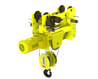 China European Design Low Headroom Wire Rope Hoists 4/1 Rope Reeving Of  Four Wire Rope distributor