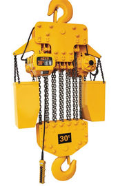 China 30 T Electric Mini Chain Hoist  Type Construction Without Trolley distributor