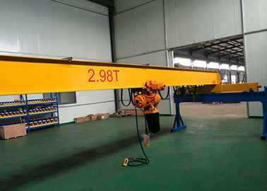 China 6 Meters To 18 Meters Overhead Travelling Crane 1.6 Tons To 16 Tons 0.8/5 Speed factory