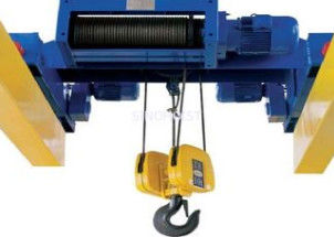 China Remote Control Mini Electric Hoist  Winch 3.2 Ton ~ 63 Ton 4M - 30M Lifting Height distributor