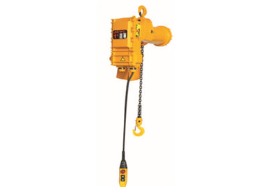 China 1 ton to 35 tons Explosion Proof Electric Chain Hoists Alloy Steel Adjustable Speed distributor