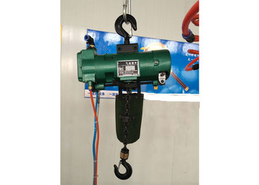 China Durable Green Steel 6 Ton Air Pneumatic Chain Hoist Explosion Proof distributor