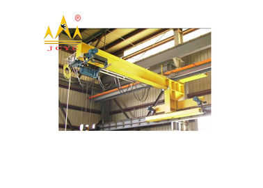 China 1t to 15t End Truck Overhead Travelling Crane / Small Under Slewing Crane Yellow Color distributor