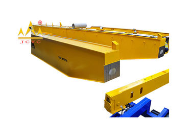 China European Type Yellow Overhead Bridge Crane Double Girder Optimized Design 5t To 80t distributor