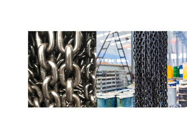 China Easy Using Blacken G80 Lifting Chain Customizable Length With ISO Certificate distributor