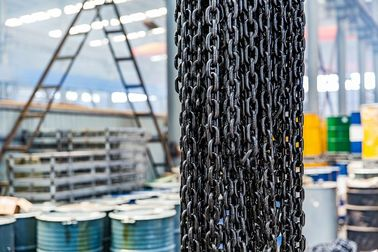 China G80 Grade Load Steel Lifting High Performance Chain CE / ISO Certification distributor