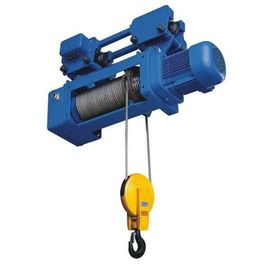 China Foot Mounted Electric Wire Hoist 2/1 4/1 Rope Reeving Leading Crane For Lifting Goods distributor
