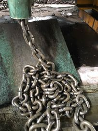 China Alloy Steel G80 Lifting Chain Black Oxidation For Chain Sling And Chain Hoist distributor