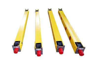 China Crane End Carriage Motor Traveling End Truck Carriage Of Single Girder Crane factory